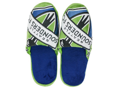 Seattle Sounders FC Big Logo Slippers