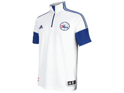 Philadelphia 76ers adidas NBA Men's 2014-2015 Game Time Shooting Shirt