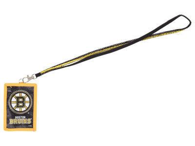 Boston Bruins Lanyard Wallet