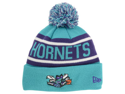 Charlotte Hornets New Era NBA HWC Biggest Fan Pom Knit