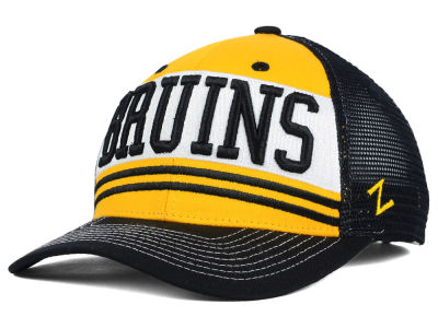 Boston Bruins Zephyr NHL Headline Mesh Hat