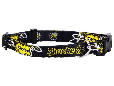 Wichita State Shockers Medium Dog Collar