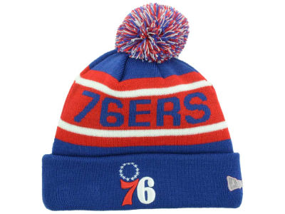 Philadelphia 76ers New Era NBA HWC Biggest Fan Pom Knit