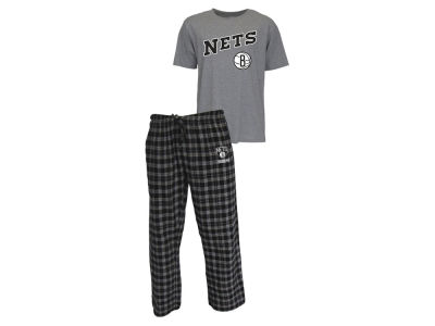 Brooklyn Nets NBA Men's Candid Flannel Plaid Set