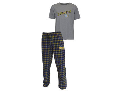 Denver Nuggets NBA Men's Candid Flannel Plaid Set