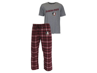 Florida State Seminoles NCAA Men's Candid Flannel Plaid Set
