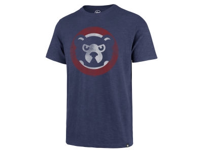 Chicago Cubs '47 MLB Men's Scrum Coop Logo T-Shirt