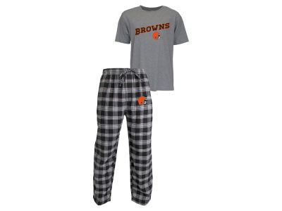 Cleveland Browns NFL Men's Candid Flannel Plaid Set