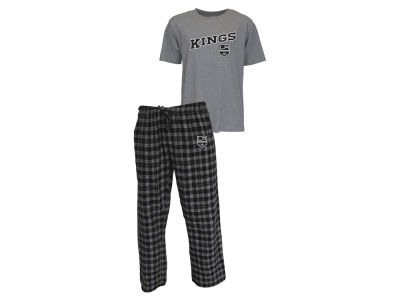 Los Angeles Kings NHL Men's Candid Flannel Plaid Set