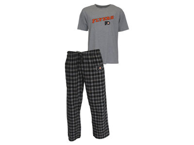 Philadelphia Flyers NHL Men's Candid Flannel Plaid Set