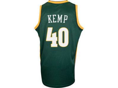 Seattle SuperSonics Shawn Kemp adidas NBA Retired Player Swingman Jersey