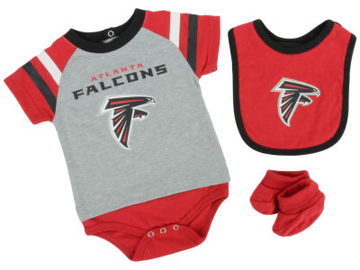 Atlanta Falcons NFL Newborn Little Player CBB Set