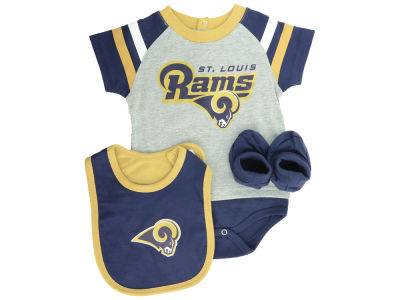 St. Louis Rams NFL Newborn Little Player CBB Set