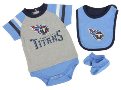 Tennessee Titans NFL Newborn Little Player CBB Set