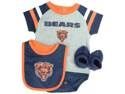Chicago Bears NFL Infant Little Player CBB Set