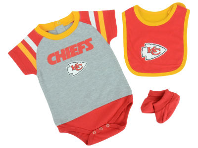 Kansas City Chiefs NFL Infant Little Player CBB Set