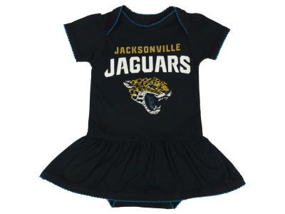 Jacksonville Jaguars NFL Infant Girls Dazzled Bodysuit Dress