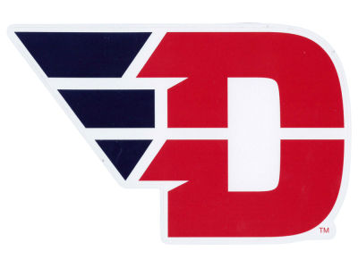 Dayton Flyers 4x4 Die Cut Decal Color