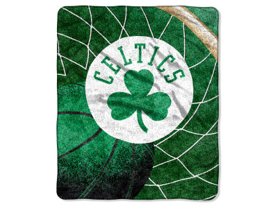 Boston Celtics 50x60in Sherpa Throw