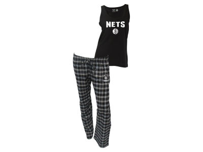 Brooklyn Nets NBA Women's Candid Flannel Tank Sleep Set
