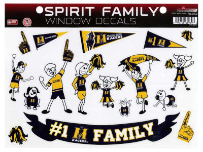 Murray State Racers Family Decal Set