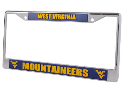 West Virginia Mountaineers Chrome Frame