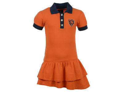 Chicago Bears NFL Infant Girls Preppy Polo Dress