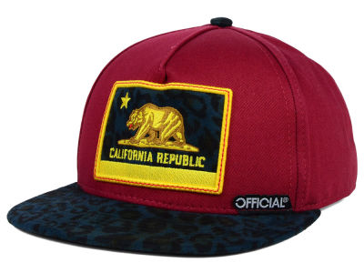 Official Cali Burgs Leo Snapback Hat