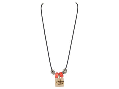 Detroit Red Wings Lifetile Necklace With Beads