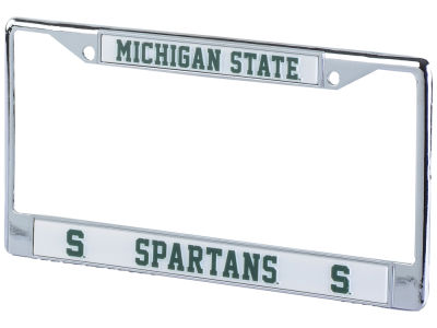 Michigan State Spartans Chrome Frame