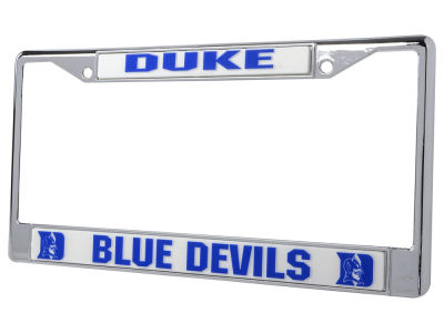 Duke Blue Devils Chrome Frame