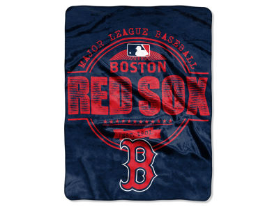 Boston Red Sox Micro Raschel 46inch x 60inch Structure Blanket