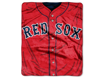 Boston Red Sox 50x60in Plush Throw Jersey