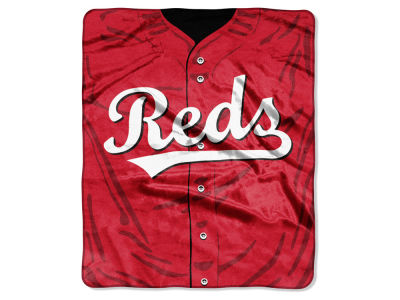 Cincinnati Reds 50x60in Plush Throw Jersey