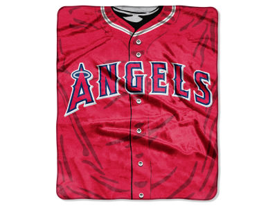 Los Angeles Angels 50x60in Plush Throw Jersey