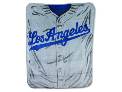 Los Angeles Dodgers 50x60in Plush Throw Jersey