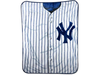 New York Yankees 50x60in Plush Throw Jersey