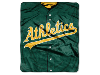 Oakland Athletics 50x60in Plush Throw Jersey