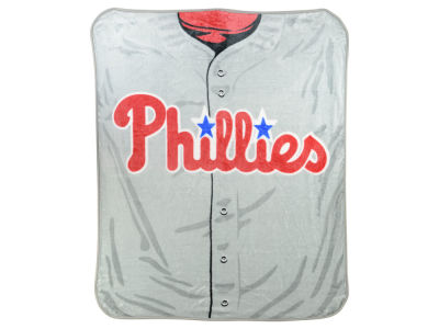 Philadelphia Phillies 50x60in Plush Throw Jersey