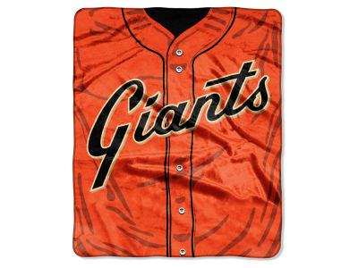 San Francisco Giants 50x60in Plush Throw Jersey