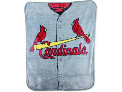 St. Louis Cardinals 50x60in Plush Throw Jersey
