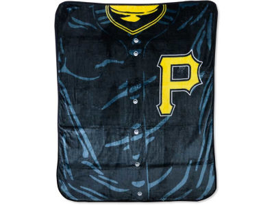 Pittsburgh Pirates 50x60in Plush Throw Jersey