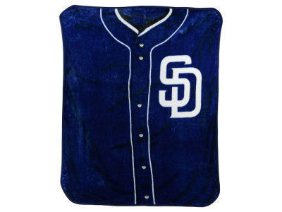 San Diego Padres 50x60in Plush Throw Jersey