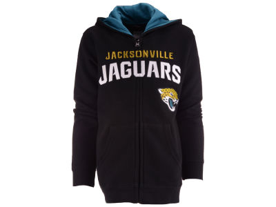 Jacksonville Jaguars Outerstuff NFL Youth Stated Full Zip Hoodie