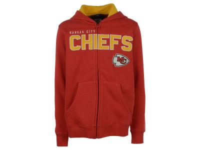 Kansas City Chiefs NFL Youth Stated Full Zip Hoodie