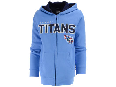 Tennessee Titans NFL Youth Stated Full Zip Hoodie