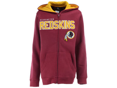 Washington Redskins NFL Youth Stated Full Zip Hoodie