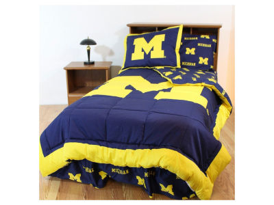 Michigan Wolverines Bed in a Bag-Twin