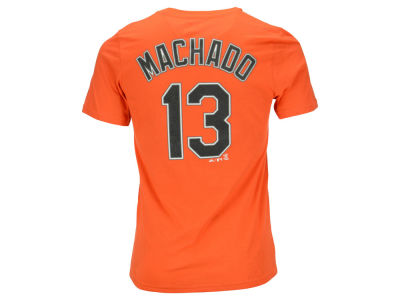 Baltimore Orioles Manny Machado Majestic MLB Youth Official Player T-Shirt