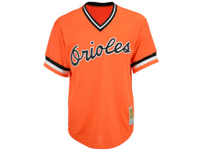Baltimore Orioles Cal Ripken Jr. MLB Men's Authentic Mesh Batting Practice V-Neck Jersey